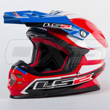 Casco Moto Ls2 Mx456 Touareg Chile Motocross Enduro