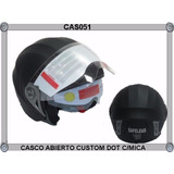 Casco Abierto Custom Dot C/mica