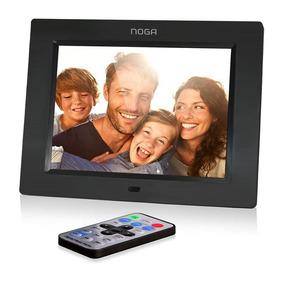 Portaretrato Digital Multimedia Jpg Mp3 Video Reloj 8090
