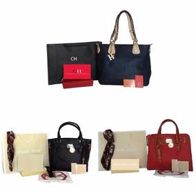 Lote 3 Bolsos Bolsa Mujer Mayoreo, Mk, Tommy, Fendi, Dior