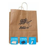Carimbe Sacolas E Sacos Kraft Personalize Agora Com Sua Logo