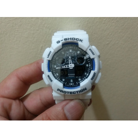 5fbce1786b9 G Shock Branco Falso Esportivo Masculino - Relógios De Pulso no ...