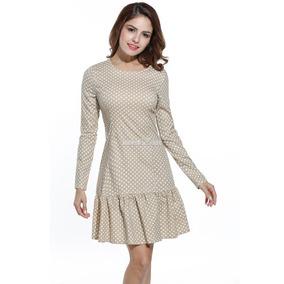Vestido de lunares para mujer