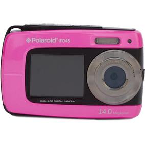 Camara Digital Polaroid De 14mp, Rosa Pantalla Dual