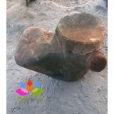 Tambor Prehispánico Huehue De 2 Pieles Y Asiendo