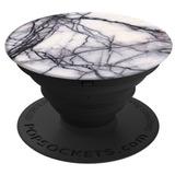 Popsockets: Soporte Para Celular Y Tablet - White Marble