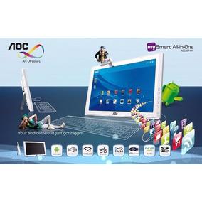 Aoc Smart Monitor Computador Android Todo En Uno 22 1080p