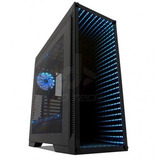Gabinete Gaming Game Factor Csg601 - Torre, Pc, Atx, Negro