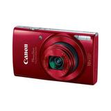 Cámara Digital Canon Powershot Elph 190 Is 20mp Roja Wi-fi