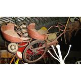 Sulky - Ciclo Antiguo Sulky Doble Asiento Caballo