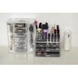 Set Organizador Accesorios+maquillaje+cosméticos+discos Alg