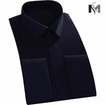 Camisa Masculina Social - Abotoadura