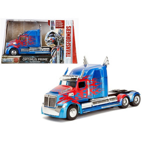 Autos A Escala 1:24 Transformers (optimus Prime) Metal Jem