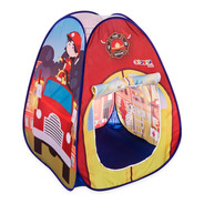 Barraca Tenda Cabana Infantil Pop Up Bombeiros - Replay Kids