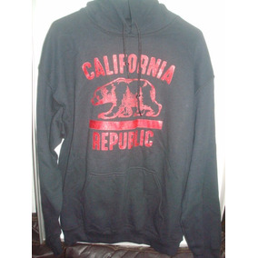 Sudadera Bowery California Republic Color Negro Talla: L