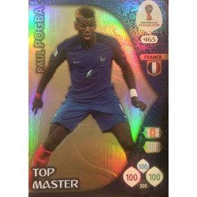 Copa Russia 2018 Card Adrenalyn Pogba Top Master