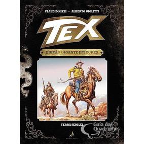 Encadernados Tex Gigante Em Cores Capa Dura Mythos