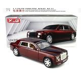 Rolls Royce Phantom Tinto Con Luz Y Sonido Escala 1:24
