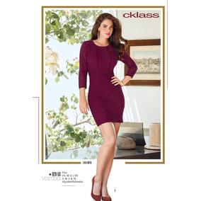 Vestido Cklass Vino Temporada Otoño Invierno 2016 Nuevo