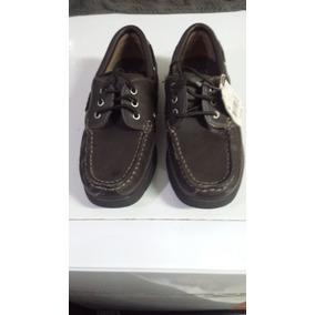Zapatos Nauticos Con Cordones Vestir Traje Colegio Route 66