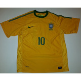 1a3064e78d Camisa Brasil Copa 2010 Original Nike Kaká Impecável - 88