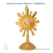 Custodia Eucaristica U Ostensorio Manifestador Gotica A703