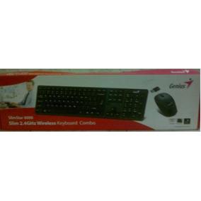 Teclado Mouse Inalambrico Genius Slimstar 8000