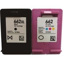 Cartuchos 662preto Xl+662 Color Xl Envio Imediato!