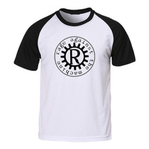 Camiseta Rage Against The Machine Raglan Rock Hardcore Ratm