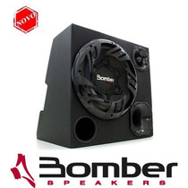 Caixa Som Trio Bomber Carbon Amplificada 175w Rms