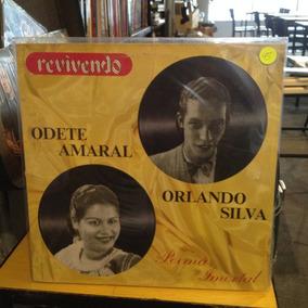 Odete Amaral Orlando Silva Revivendo Encarte Lp Vinil