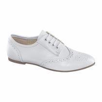 Zapatos Oxford Blancos Bostoneanos Pink Y Bershka