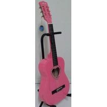 Violao Austin Infantil Rosa Pink