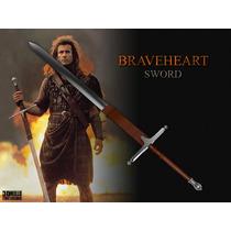 Espada De William Wallace Claymore Escocesa Funda Y Base 1:1