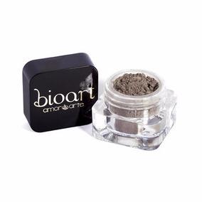 Sombra Marrom Castanho Brilho Eco Makeup Mica Mineral Bioart