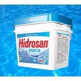 Cloro 5 Em 1 Hidrosan Penta 10 Kg 5 Funções Dicloro Orgânico