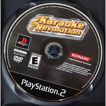 Karaoke Revolution Sony Playstation 2 Editor Konami Juego