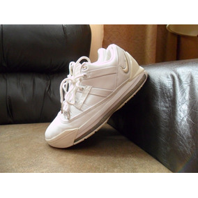 Tenis Nike Zoom Lebron Iii 3 Low All White 100% Originales
