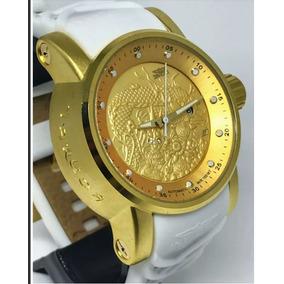 8964b422dfb Relogio Invicta Dourado Réplica Barata - Relógios De Pulso no ...