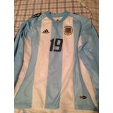 Argentina adidas Mundial 2002 Manga Larga Utileria Crespo