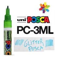 Marcador Uni Posca Pc 3ml Glitter!!!  Barrio Norte.