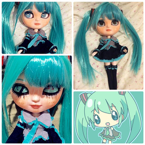 Boneca Blythe Icy Doll Hatsune Miku -