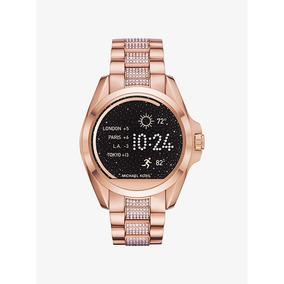 Reloj Michael Kors Smartwatch Con Swarovski Oro Rosa