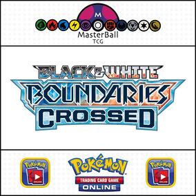 5 Códigos Pokemon Tcg Online Booster B&w Boundaries Crossed