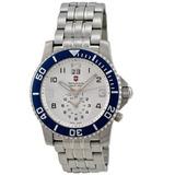 Reloj Victorinox Swiss Army Xz Tablero Plateado Acero