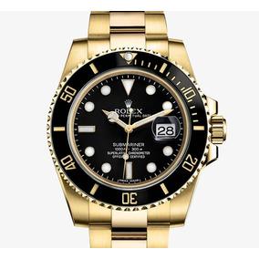 cc75779a6fa Relogio 18k Dubai Rolex - Relógios De Pulso no Mercado Livre Brasil