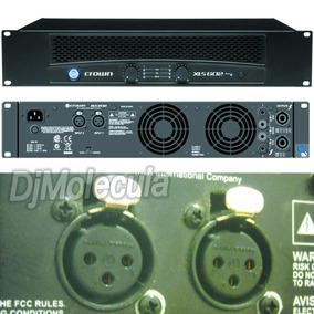 Power Profesional Crown Xls-602 Pro Para Discoteca Tasca Cas