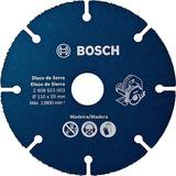 Kit C/ 4 Un. Discos De Serra Especial Bosch P/ Madeira 110mm