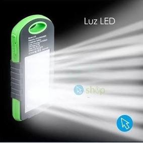 Bateria Portatil Solar Lampara Luz Led 13000 Mah Oferta