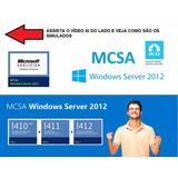 Pacote 3 Simulados 70-410+70-411+70-412 Mcsa 2012 Português